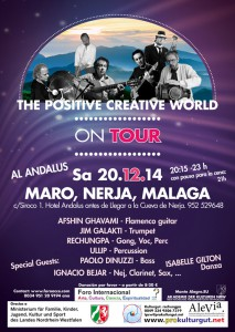 The Positive Creative World Spain Tour