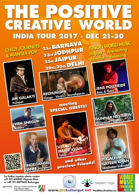 The Positive Creative World India Tour 2017