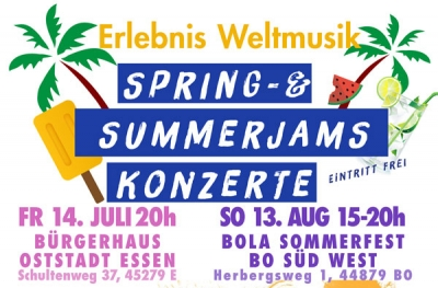 Spring & Summerjams 2017 Konzerte