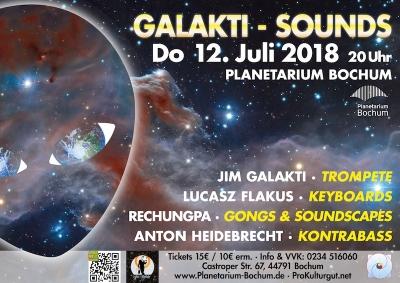 Galakti Sounds Poster